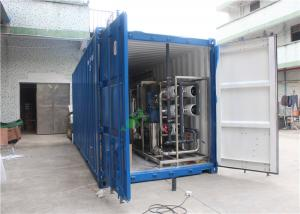 China Reverse Osmosis Water Purification Unit Containerized Ro System For Underground Water on sale
