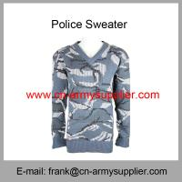 China Wholesale Cheap China Military Navy Blue Camouflage Army Sweater on sale