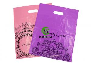 China Reusable Degradable PE Plastic Bag Custom Logo / Size Easy To Use For Adults on sale
