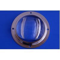 Outdoor Street Light 10w Led Lens , LED Optical Glass Lens With Bridgelux Chip