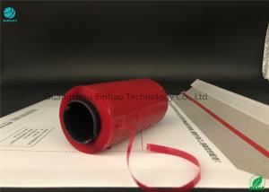 China Red Envelope Tear Strip Tape / Hot Melt Adhesive Tearable Packing Tape on sale
