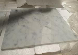 White Natural Stone Tiles Italian Polished Carrara White Marble