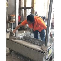 China 2018 Stainless Steel Render Brick Block Wall Plastering Rendering Machine with Gypsum cement clay morta on sale