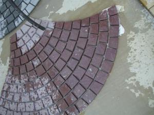 China Antacid Split Red Slate Stone Tile for decoration exterior , natural slate wall tile on sale