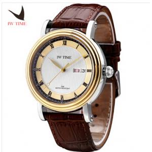 China Iwtime watch fully-automatic mechanical watches male waterproof male watch genuine leather male watch high quality on sale
