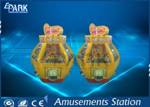 China Automatic Gold Fort Casino Coin Pusher Game Machine Hardware And Acrylic Material on sale