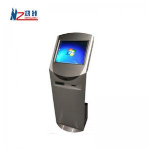 China Oil Painting Touch Screen Information Kiosk , Multi - Media Input Self Service Terminal on sale
