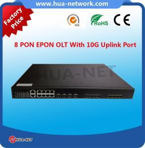 China 1U 8PON ports ftth fiberhome 10g epon olt modem on sale