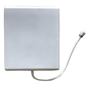 China Indoor Directional Patch Panel Antenna GSM 3G / 4G 698 - 2700MHz For Mobile Signal Booster on sale