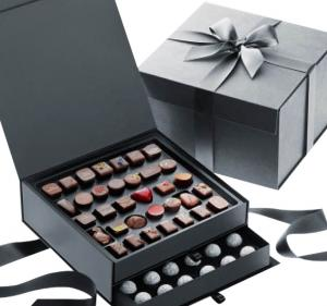 China Luxury Cardboard Paper Sweet Box Custom Logo Printing For Chocolate on sale