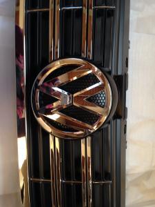 China Black Easy installation Custom Car Grilles for New Lavida ,  Auto car mesh grills on sale