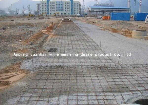 Hole Shape Concrete Reinforcement Wire Mesh 4x4 6x6 10x10