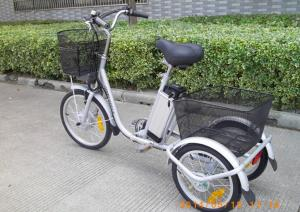 Quality Smart Charger 3 Wheeled Electric Bike 40 45km Range Pedal Ist For
