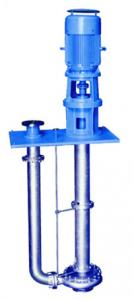 China Chemical Vertical Submersible Pump , High Temperature Sulfuric Acid Pump on sale