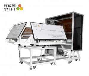 China Full Automatic Cable Tie Machine , Customized Plastic Tie Machine With A Robot on sale