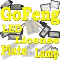 Benz W204, W204 5D, W212 LED license plate bolt lights bulb