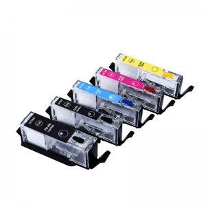 China Food Grade Plastic  Empty Toner Cartridges PGI250 / CLI251 PGI450 / CLI451 on sale