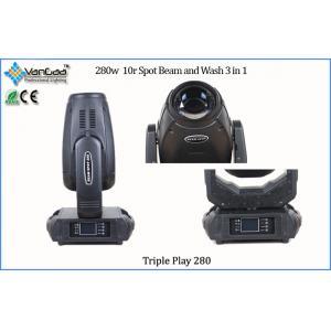 China 10R Spot Beam Wash Moving Head Stage Lights Equipment OSRAM SIRIUS HRI 280 on sale