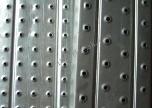 China 1.5mm Anti-Skid Plate Perforated Metal Sheet  For Walkway 1.83 Length on sale