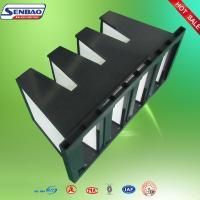 Gas Turbine Air Handling Unit  Air Filter Plastic Frame High Efficiency