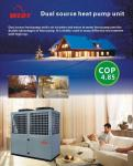 Dual source heat pump