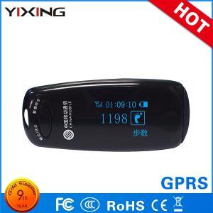 China Pocket Digital Sleep Health Monitoring 7 Days Memory GPRS Activity Tracker OLED Display Pedometer on sale