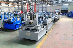 China GCr15 Roller Thickness 3.0mm C Purlin Roll Forming Machine on sale