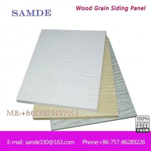 China Ventilation, heat preservation and heat insulation wood cladding wall board on sale