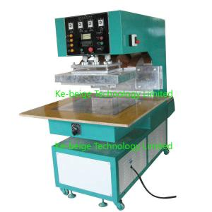China Automated PVC High Frequency Conveyor Belt Hf Welding Machine 10kw , High Power on sale