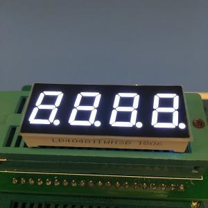 China 0.4 Inch Common Anode 7 Segment Display , 4 Digit 7 Segment Numeric Display on sale