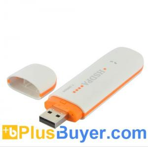 China HSUPA - 3G USB Modem for Laptops, Windows Compatible - Plug-and-play on sale