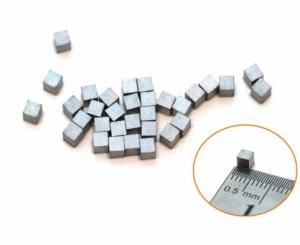 China YG6 Tungsten Carbide Saw Tips Wood / Stone Cutting Cemented Carbide Tips on sale