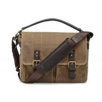 "Waterproof Canvas Messenger Bag , Canvas Briefcase Messenger Bag 12.2"" X 11"" X 5.1"" Cm"
