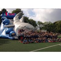 Giant Inflatable Shark Slide 8M Inflatable Sports Games Toddler Outside Toys