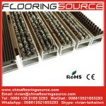 Aluminum Recessed Entrance Mat reduce dirt decorate entrance both indoor and outdoor