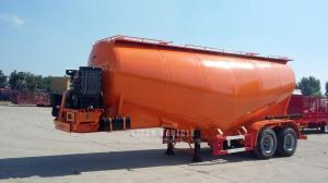 China TITAN VEHICLE powder material transport semi-trailer cement bulk trailers for sale philippines on sale