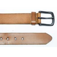 China Flexible Custom Designs Vintage Leather Belt 100 - 125 CM Length Pin Buckles on sale