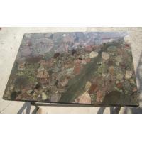 Exotic Polished Natural Slate Wall Tile , Multi Color Granite Wall Tiles