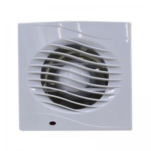 China 18W Bathroom Ventilation Fan 6'' 150MM Plastic Wall Mounted Bathroom Exhaust Fan on sale