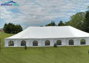 China Outdoor Large Event Marquee Tent Hard Pressed Extruded Aluminum 6061 / T6 Frame on sale