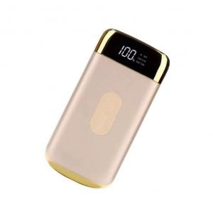 China QI 8000MAH quick charging wireless power mobile charger with LED Digital Display on sale