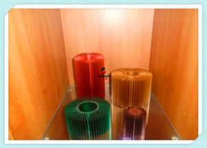 China Anodized AL6063 Machined Aluminium Profiles For LED Candle Light Enclosure Profiles supplier