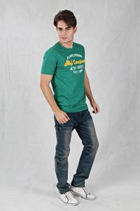 China OEM  men T-shirt/ pure color men t-shirt with print on sale