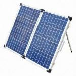 Blue Solar Power Panels , Fold Away Solar Panels 120W ~ 300W Available