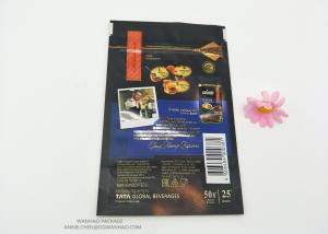 China Resealable Snack PET Laminated Aluminum Foil Plastic Packaging Bag Food Grade Smell Proof Reusable on sale