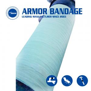 China Hot Sale Flexible Rapid water activated fiberglass tape Wrap for Water Pipe/ gas pipe /oil pipe Leak crack repair on sale