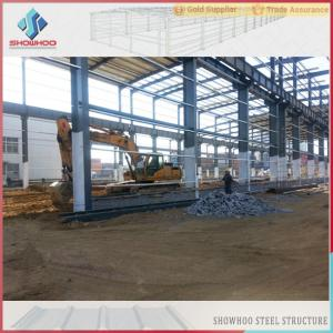 China SHOWHOO Prefabricated Space Frame Metal Shed Build Steel Structure Factory Building on sale