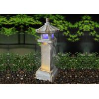 China House Pavilion Water Fountain Outdoor Garden on sale