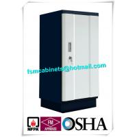 Steel Security Fire Resistant File Cabinets Magnetic Proof For Storing Audio Tape / Video Tape