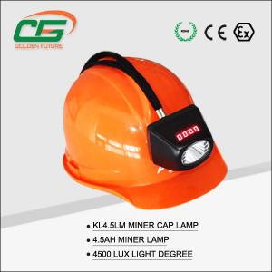 China Security Waterproof Industry Light , Underground Mining Safety Led Coal Miner Cap Lamp on sale
